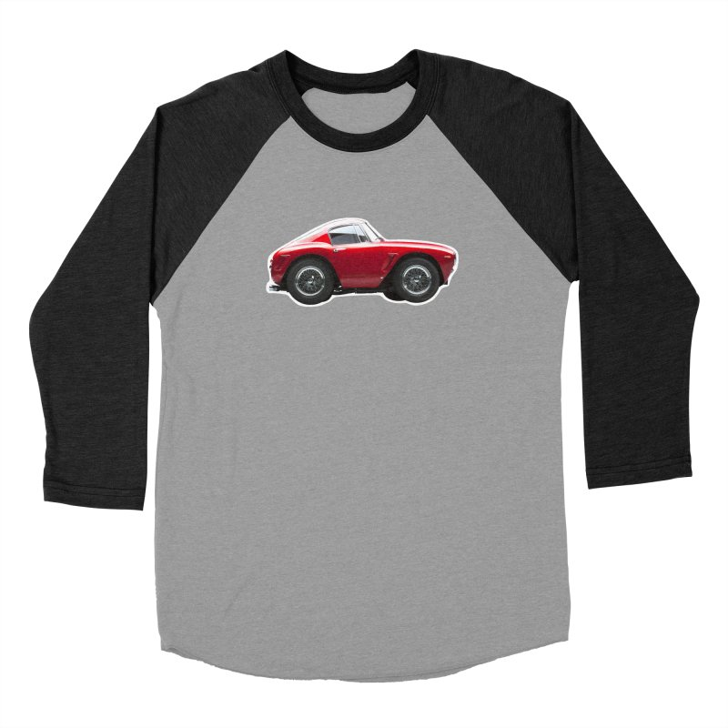 Mini Ferrari 250 GT SWB 10 Men's Baseball Triblend T-Shirt by Pixel Panzers's Merch Emporium