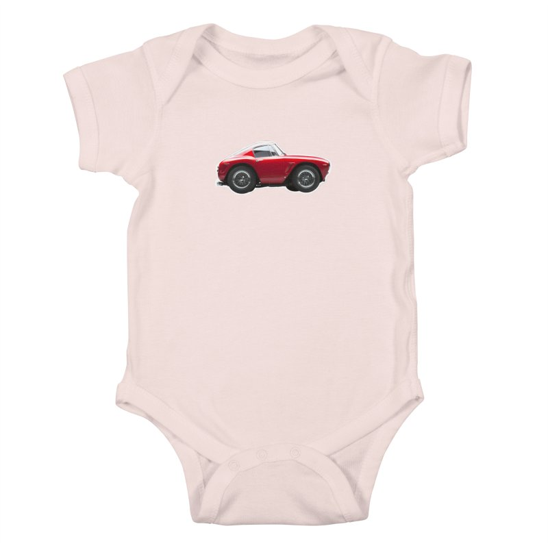 Mini Ferrari 250 GT SWB 10 Kids Baby Bodysuit by Pixel Panzers's Merch Emporium