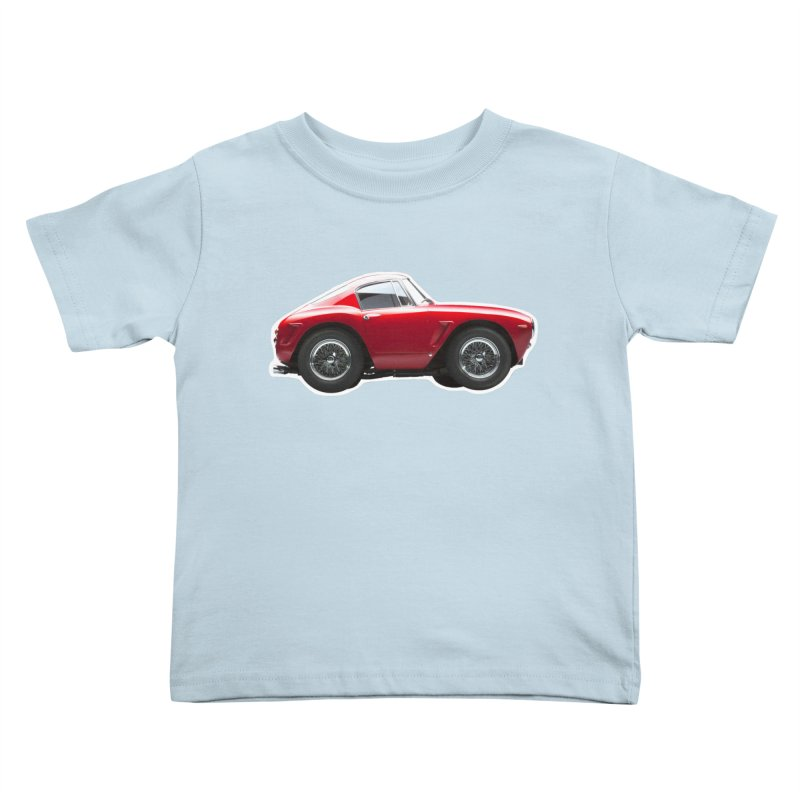Mini Ferrari 250 GT SWB 10 Kids Toddler T-Shirt by Pixel Panzers's Merch Emporium