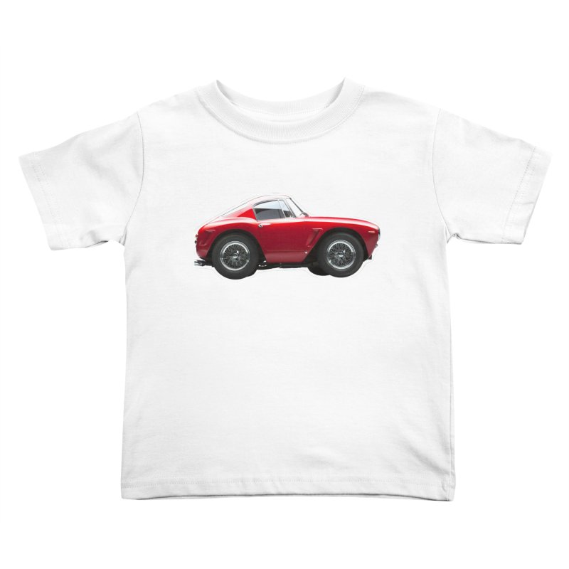 Mini Ferrari 250 GT SWB 10 Kids Toddler T-Shirt by Pixel Panzers's Merch Emporium