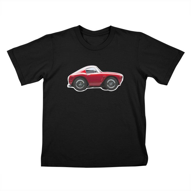 Mini Ferrari 250 GT SWB 10 Kids T-Shirt by Pixel Panzers's Merch Emporium