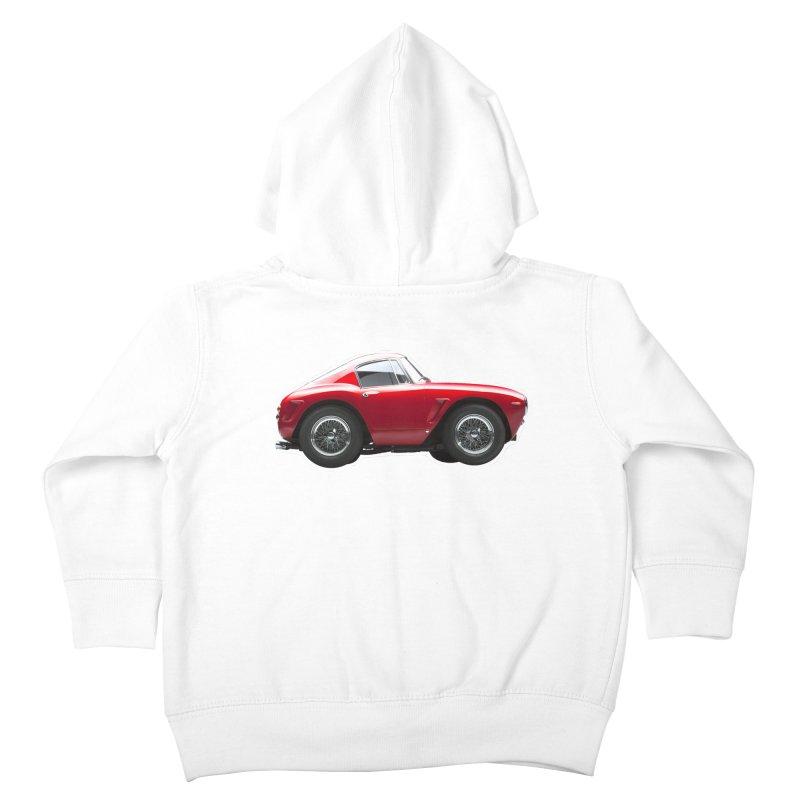 Mini Ferrari 250 GT SWB 10 Kids Toddler Zip-Up Hoody by Pixel Panzers's Merch Emporium