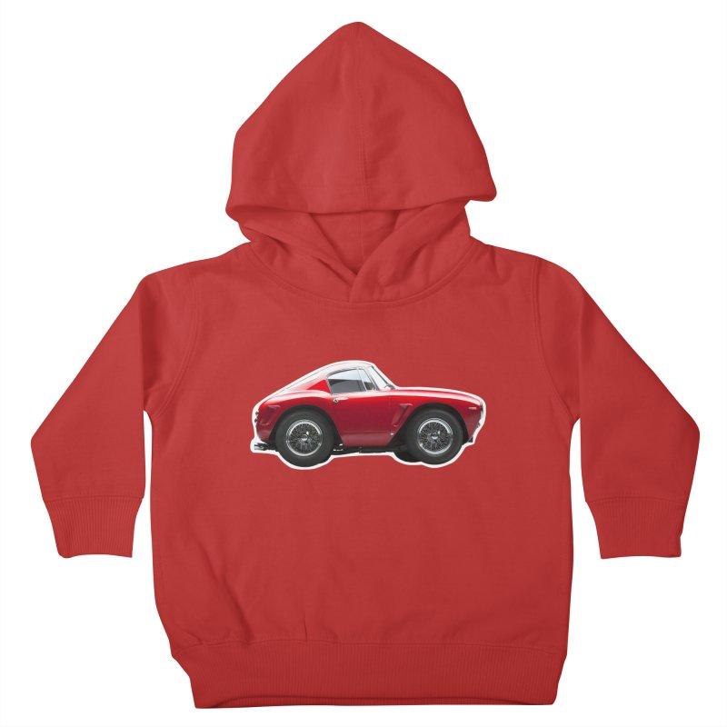 Mini Ferrari 250 GT SWB 10 Kids Toddler Pullover Hoody by Pixel Panzers's Merch Emporium