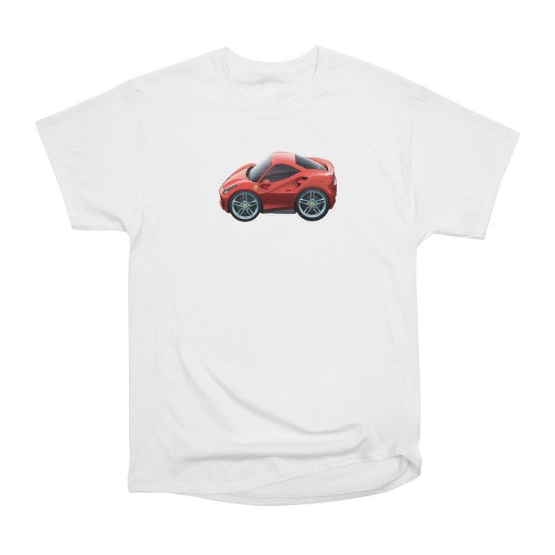 Mini Ferrari 488 GTB Men's Classic T-Shirt by Pixel Panzers's Merch Emporium