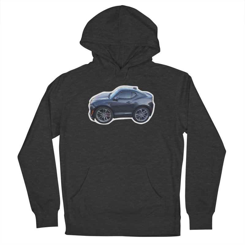 Mini Chevy Camaro SS Women's Pullover Hoody by Pixel Panzers's Merch Emporium