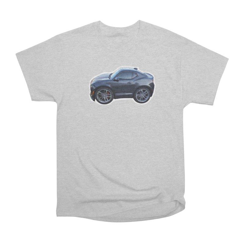 Mini Chevy Camaro SS Women's Classic Unisex T-Shirt by Pixel Panzers's Merch Emporium