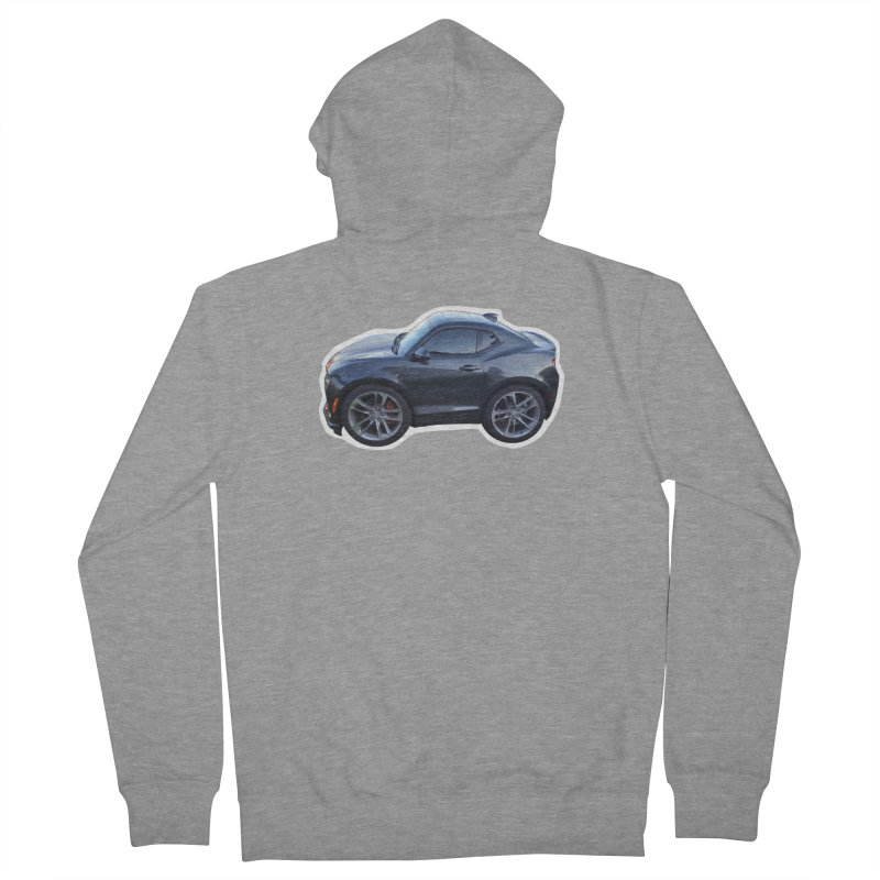 Mini Chevy Camaro SS Men's Zip-Up Hoody by Pixel Panzers's Merch Emporium