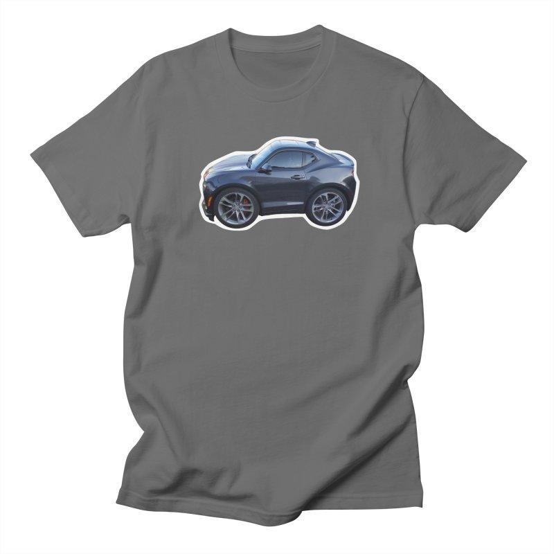 Mini Chevy Camaro SS Women's Unisex T-Shirt by Pixel Panzers's Merch Emporium