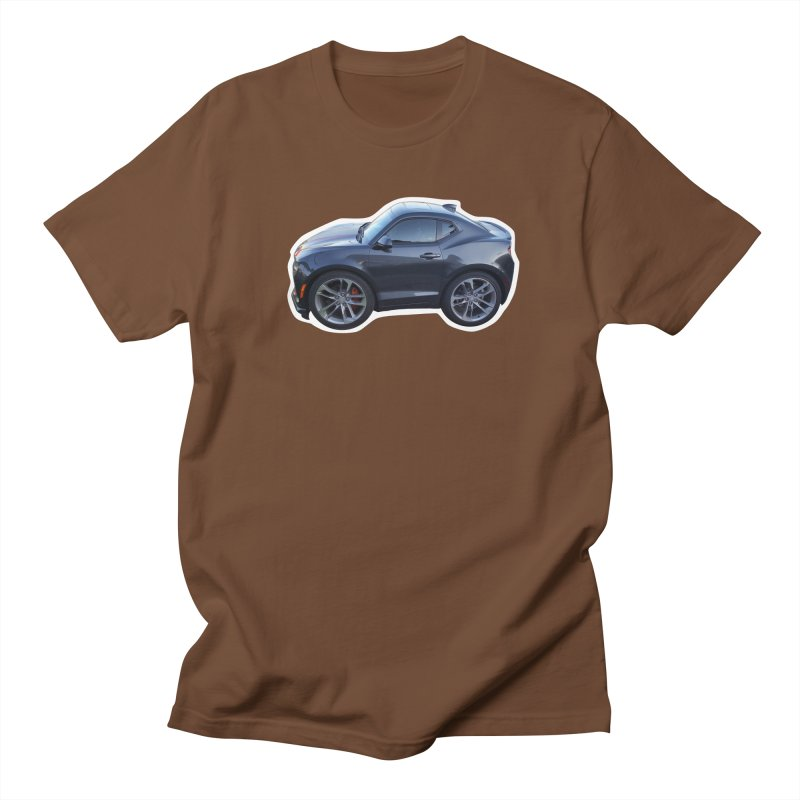 Mini Chevy Camaro SS Men's T-Shirt by Pixel Panzers's Merch Emporium