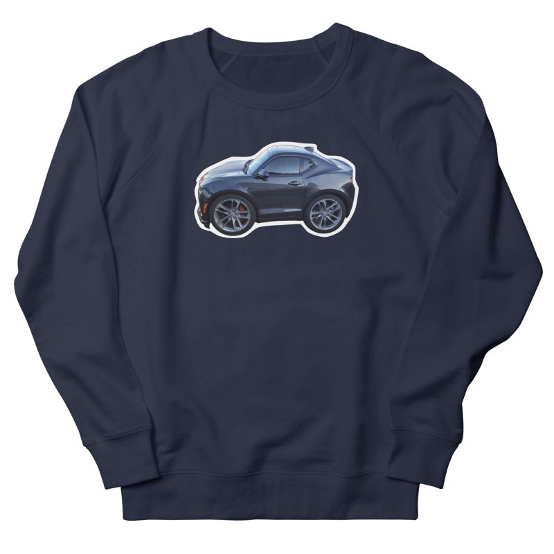 Mini Chevy Camaro SS Women's Sweatshirt by Pixel Panzers's Merch Emporium