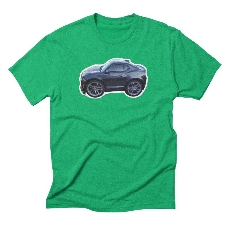 Mini Chevy Camaro SS Men's Triblend T-Shirt by Pixel Panzers's Merch Emporium