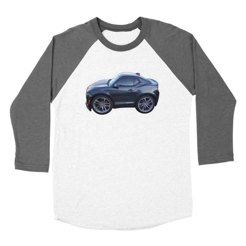 Mini Chevy Camaro SS Women's Baseball Triblend T-Shirt by Pixel Panzers's Merch Emporium