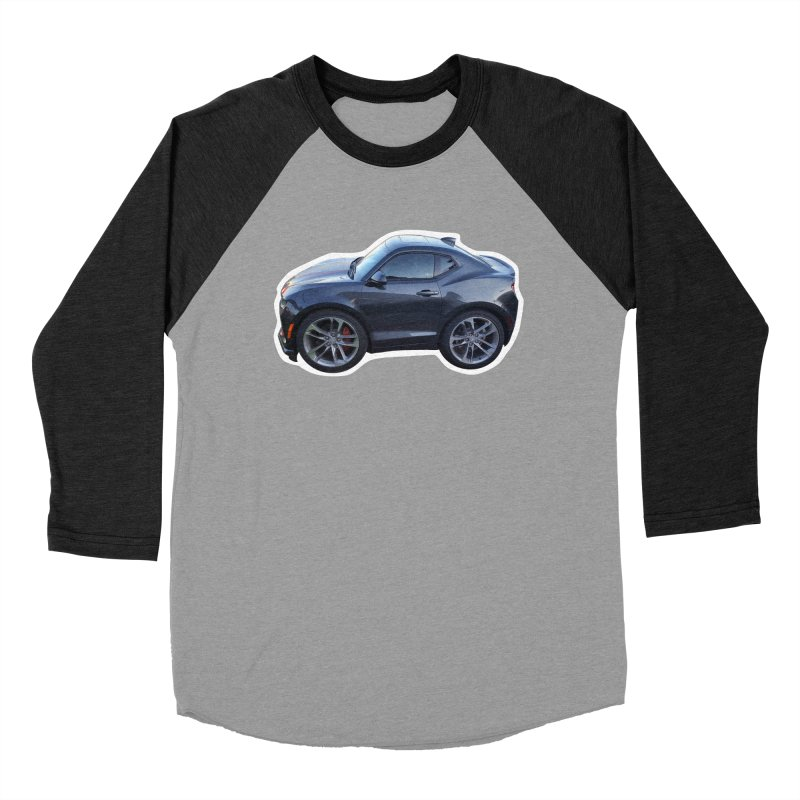 Mini Chevy Camaro SS Men's Baseball Triblend T-Shirt by Pixel Panzers's Merch Emporium