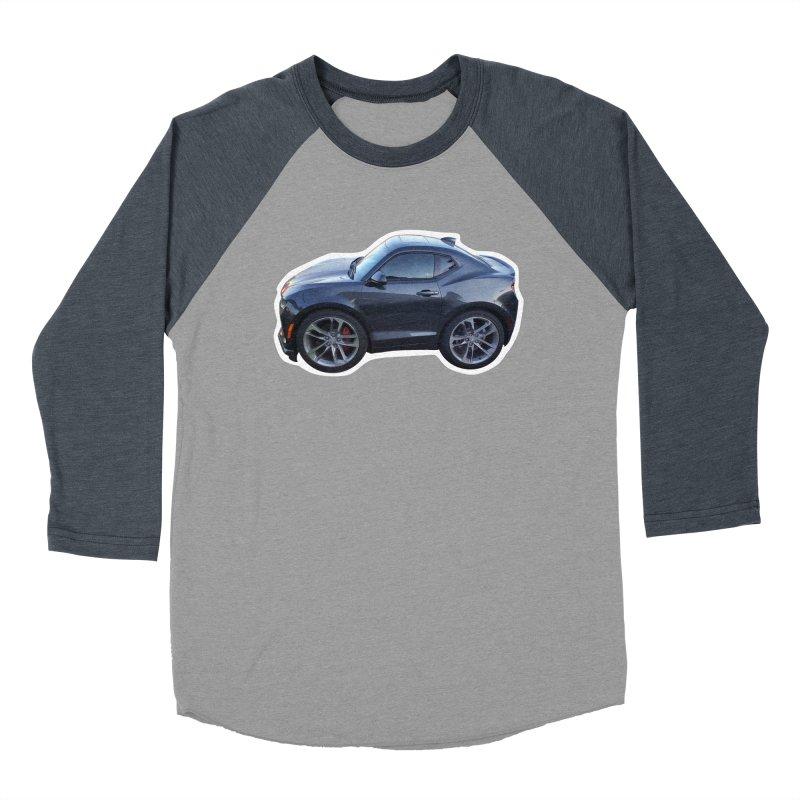 Mini Chevy Camaro SS Men's Baseball Triblend T-Shirt by Pixel Panzers's Merch Emporium