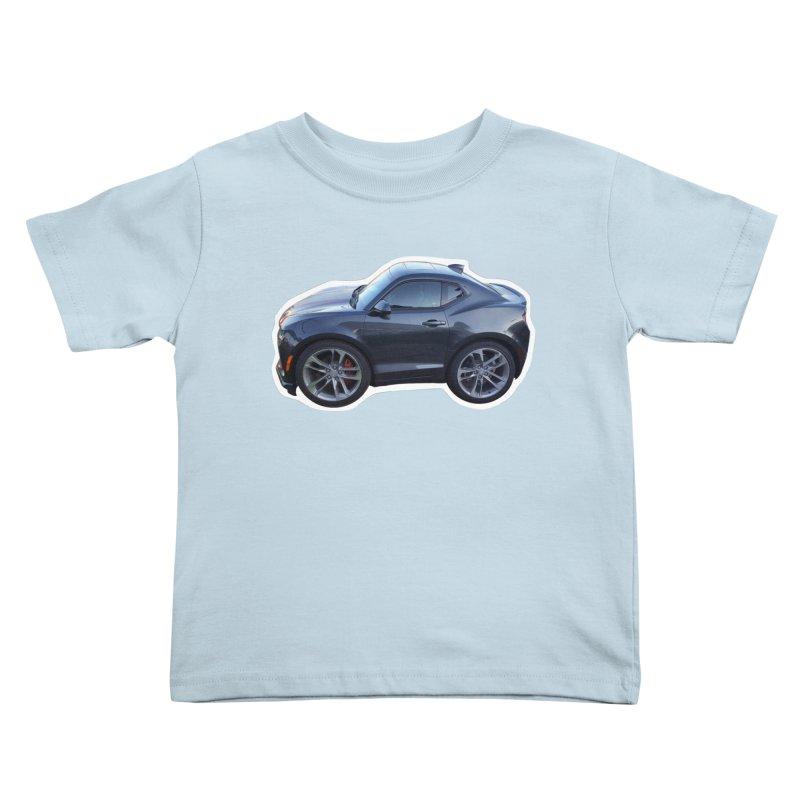 Mini Chevy Camaro SS Kids Toddler T-Shirt by Pixel Panzers's Merch Emporium