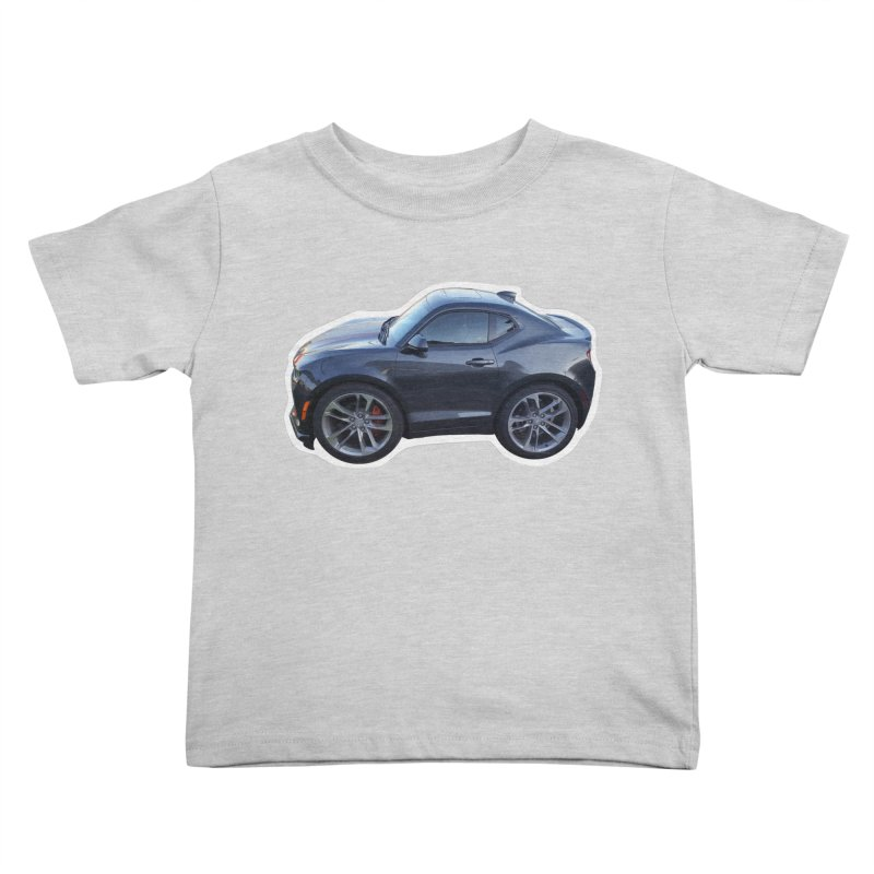 Mini Chevy Camaro SS Kids Toddler T-Shirt by Pixel Panzers's Merch Emporium