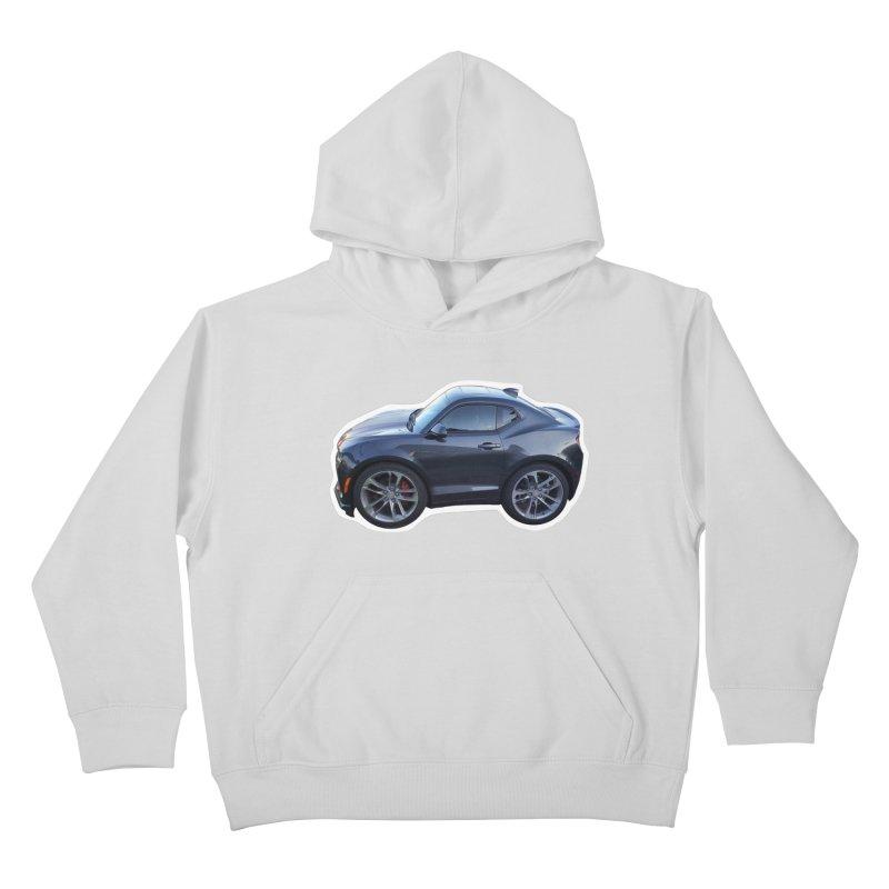 Mini Chevy Camaro SS Kids Pullover Hoody by Pixel Panzers's Merch Emporium