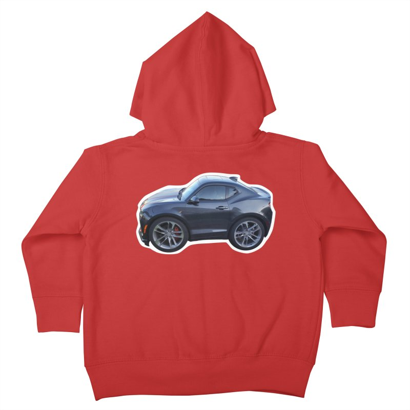 Mini Chevy Camaro SS Kids Toddler Zip-Up Hoody by Pixel Panzers's Merch Emporium