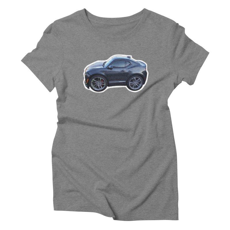 Mini Chevy Camaro SS Women's Triblend T-Shirt by Pixel Panzers's Merch Emporium