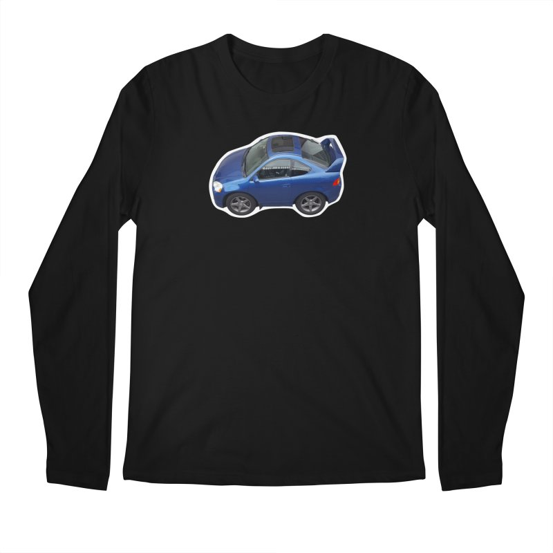 Mini Honda Integra | RSX Type S Men's Longsleeve T-Shirt by Pixel Panzers's Merch Emporium