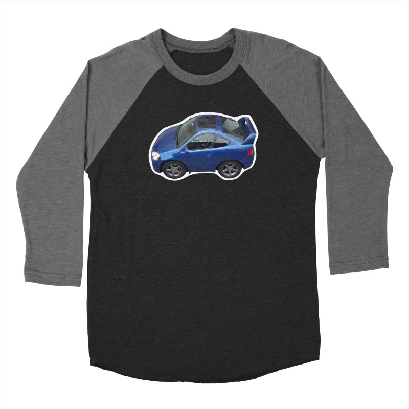 Mini Honda Integra   RSX Type S Men's Baseball Triblend T-Shirt by Pixel Panzers's Merch Emporium