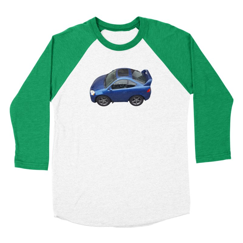 Mini Honda Integra | RSX Type S Men's Baseball Triblend T-Shirt by Pixel Panzers's Merch Emporium