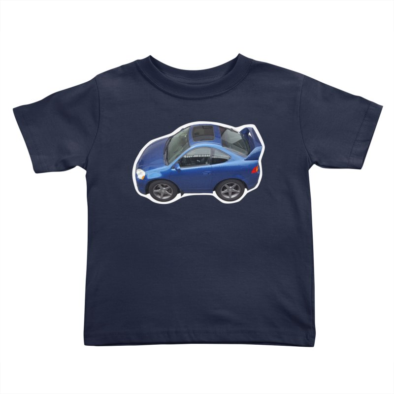 Mini Honda Integra | RSX Type S Kids Toddler T-Shirt by Pixel Panzers's Merch Emporium