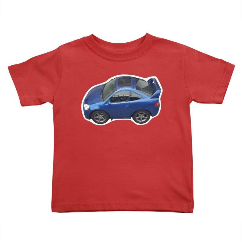 Mini Honda Integra   RSX Type S Kids Toddler T-Shirt by Pixel Panzers's Merch Emporium