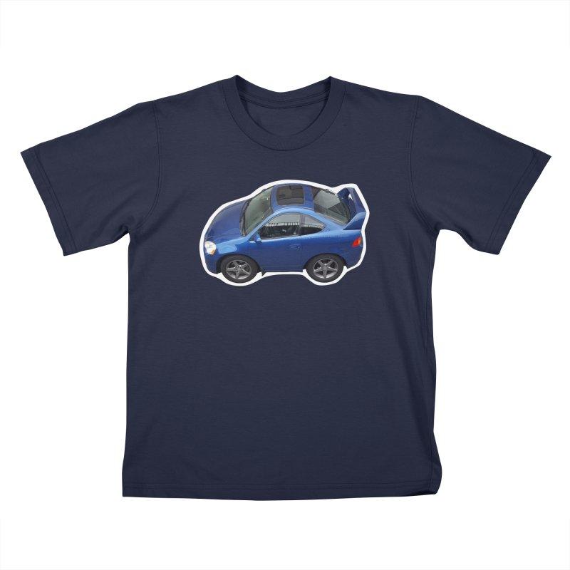 Mini Honda Integra | RSX Type S Kids T-Shirt by Pixel Panzers's Merch Emporium