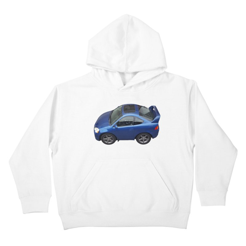 Mini Honda Integra | RSX Type S Kids Pullover Hoody by Pixel Panzers's Merch Emporium