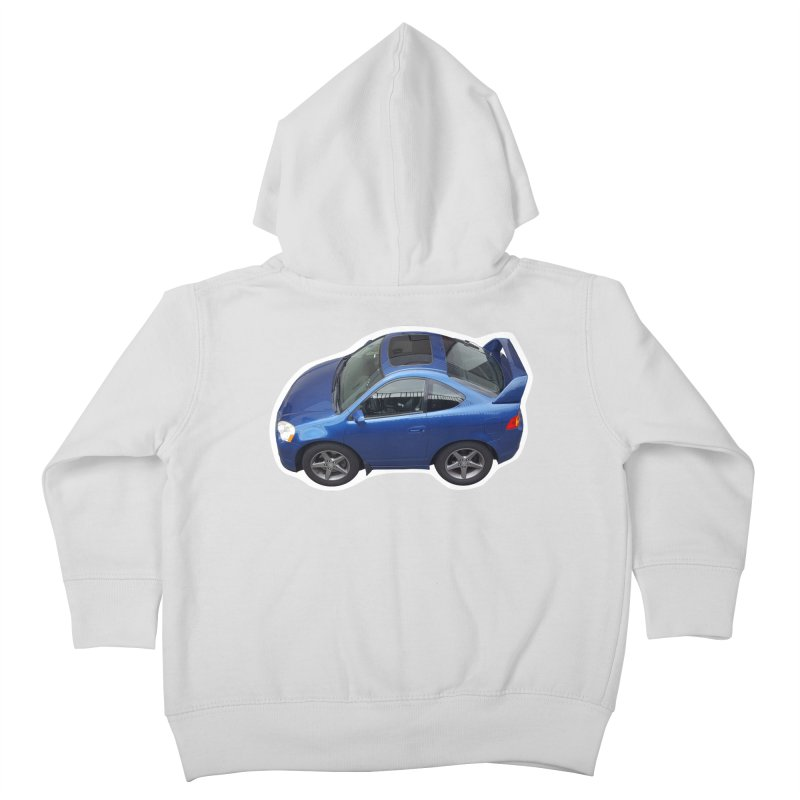 Mini Honda Integra | RSX Type S Kids Toddler Zip-Up Hoody by Pixel Panzers's Merch Emporium