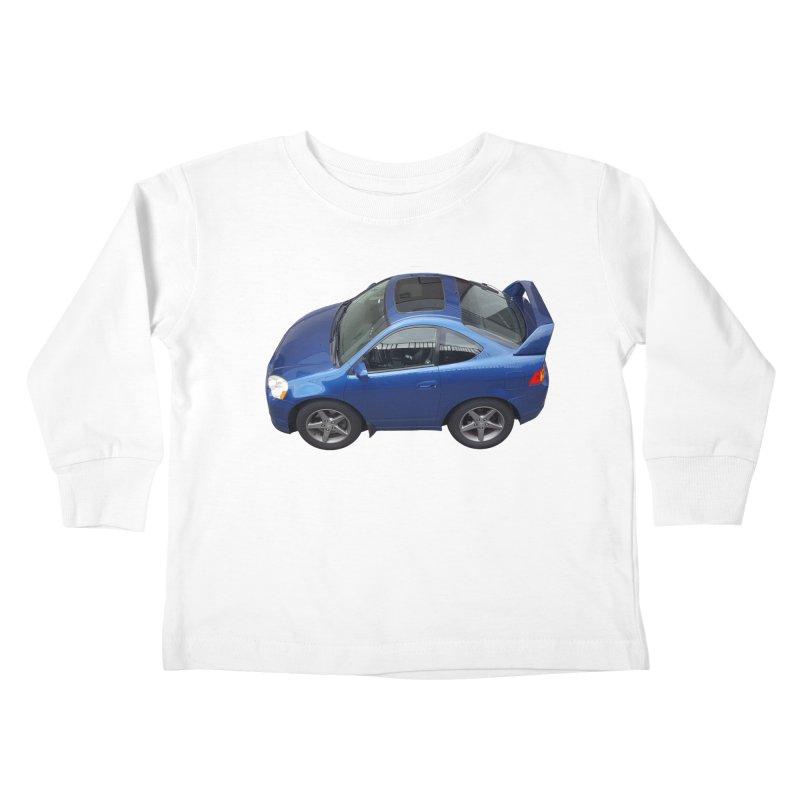 Mini Honda Integra | RSX Type S Kids Toddler Longsleeve T-Shirt by Pixel Panzers's Merch Emporium