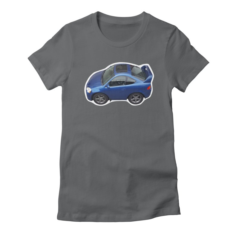 Mini Honda Integra | RSX Type S Women's Fitted T-Shirt by Pixel Panzers's Merch Emporium