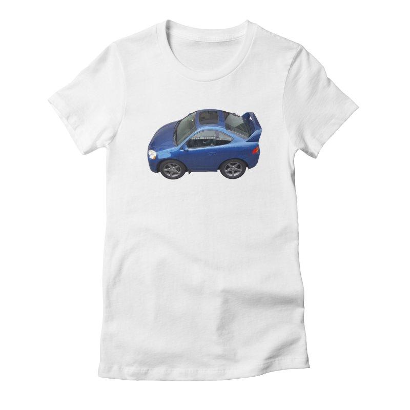 Mini Honda Integra   RSX Type S Women's Fitted T-Shirt by Pixel Panzers's Merch Emporium