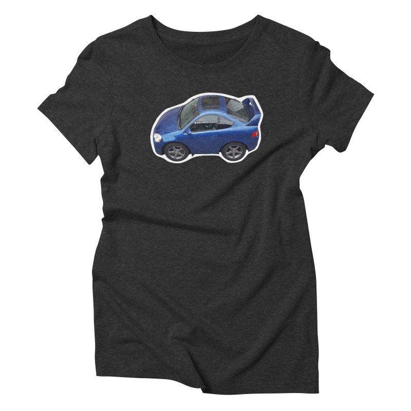 Mini Honda Integra | RSX Type S Women's Triblend T-Shirt by Pixel Panzers's Merch Emporium