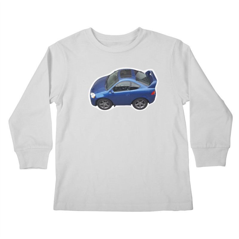 Mini Honda Integra | RSX Type S Kids Longsleeve T-Shirt by Pixel Panzers's Merch Emporium
