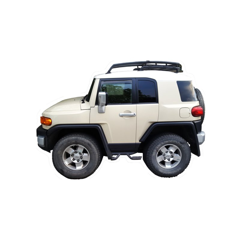 Mini FJ Cruiser by Pixel Panzers's Merch Emporium