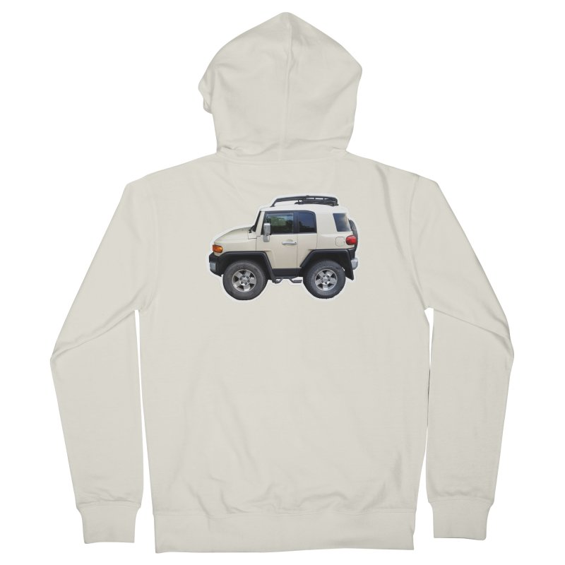 Mini FJ Cruiser Women's Zip-Up Hoody by Pixel Panzers's Merch Emporium