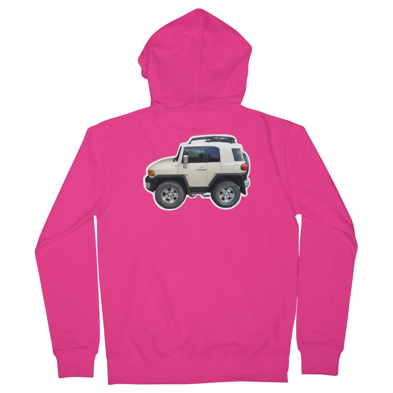 Mini FJ Cruiser Men's Zip-Up Hoody by Pixel Panzers's Merch Emporium
