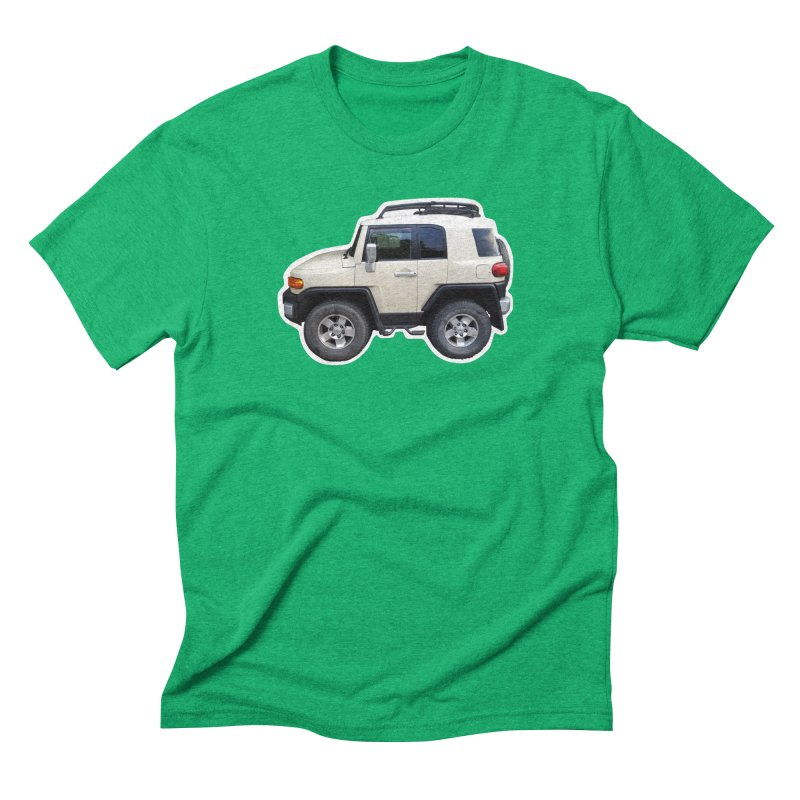 Mini FJ Cruiser Men's Triblend T-Shirt by Pixel Panzers's Merch Emporium