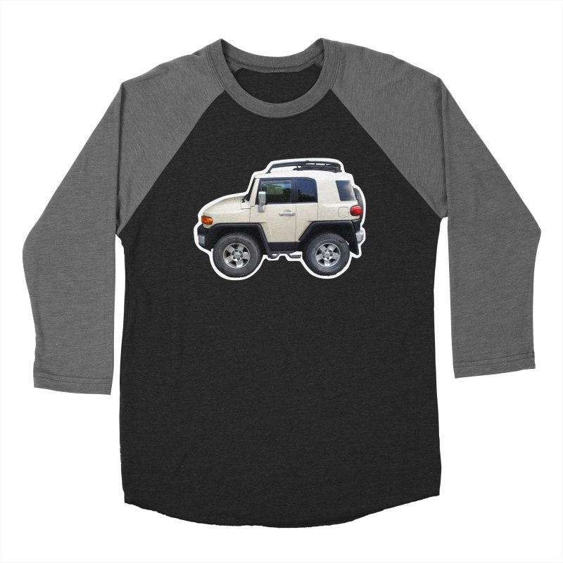 Mini FJ Cruiser Men's Baseball Triblend T-Shirt by Pixel Panzers's Merch Emporium