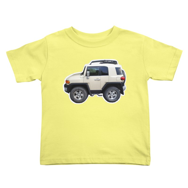 Mini FJ Cruiser Kids Toddler T-Shirt by Pixel Panzers's Merch Emporium