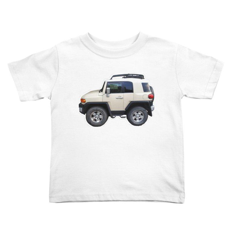 Mini FJ Cruiser Kids Toddler T-Shirt by Pixel Panzers's Merch Emporium