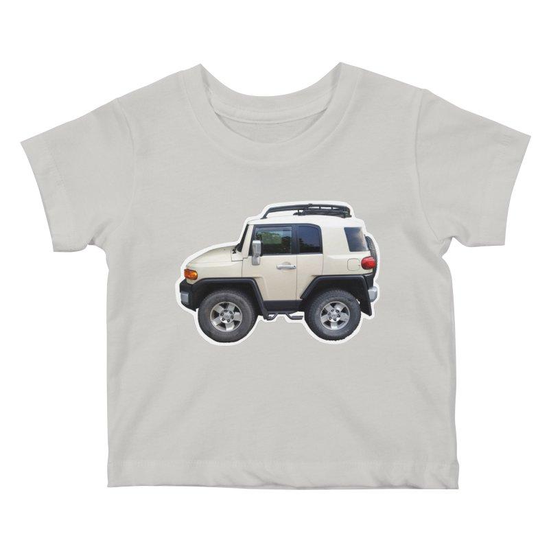 Mini FJ Cruiser Kids Baby T-Shirt by Pixel Panzers's Merch Emporium