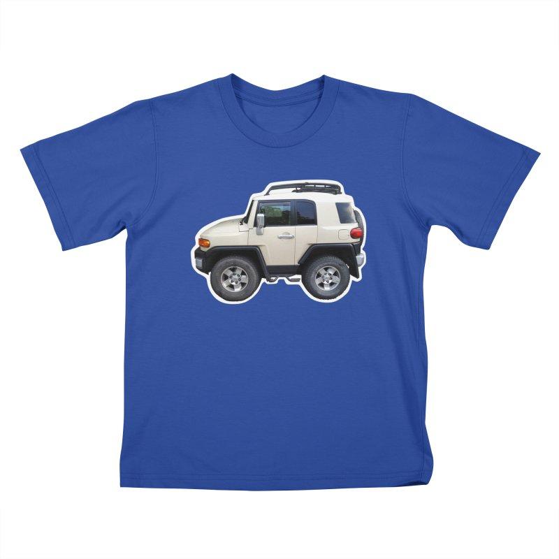Mini FJ Cruiser Kids T-Shirt by Pixel Panzers's Merch Emporium