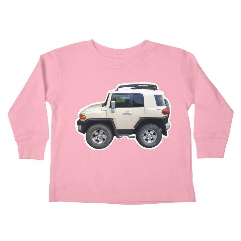 Mini FJ Cruiser Kids Toddler Longsleeve T-Shirt by Pixel Panzers's Merch Emporium