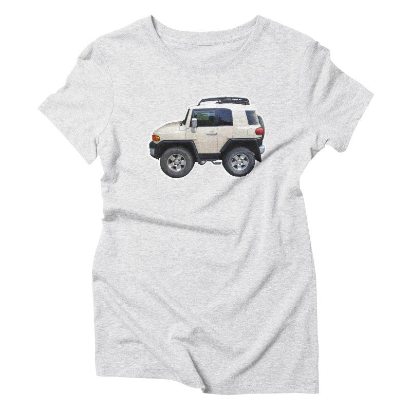 Mini FJ Cruiser Women's Triblend T-Shirt by Pixel Panzers's Merch Emporium