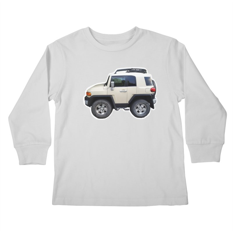 Mini FJ Cruiser Kids Longsleeve T-Shirt by Pixel Panzers's Merch Emporium