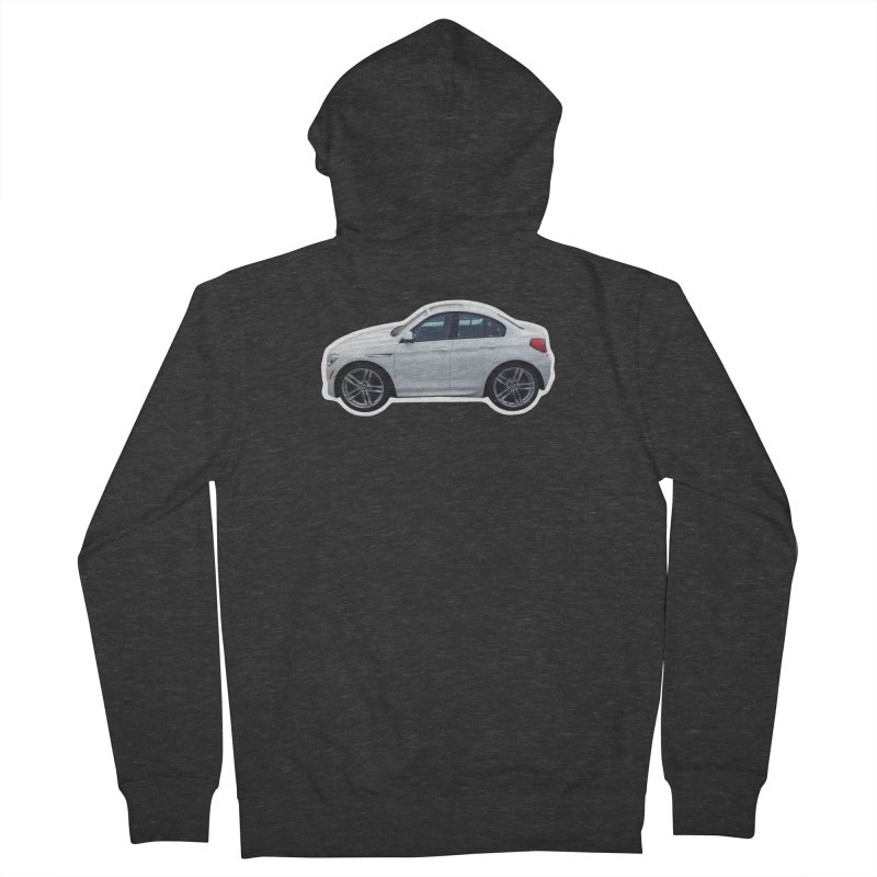 Mini BMW 6 Series Women's Zip-Up Hoody by Pixel Panzers's Merch Emporium