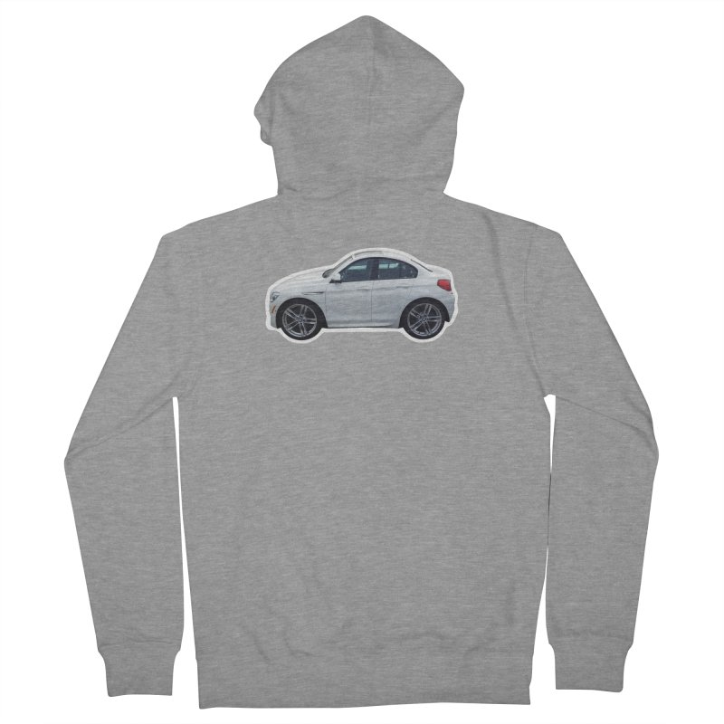 Mini BMW 6 Series Men's Zip-Up Hoody by Pixel Panzers's Merch Emporium